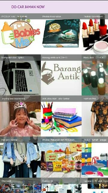 Tampilan Screenshot 2 Docar Jaman Now
