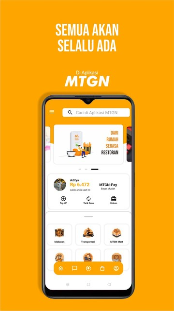 Screenshot 1 Aplikasi MTGN