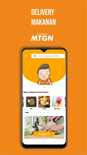 Screenshot 2 Aplikasi MTGN