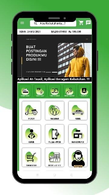Screenshot 2 Aplikasi AT-TAUSIL