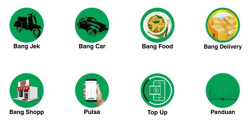 Gambar Aplikasi Bang jek