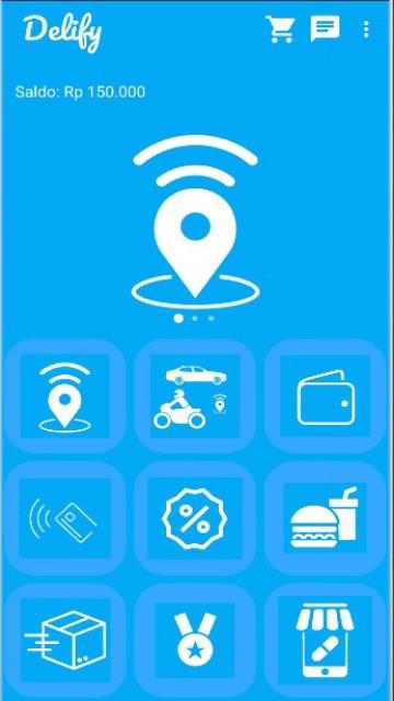 Screenshot 1 Aplikasi Delify