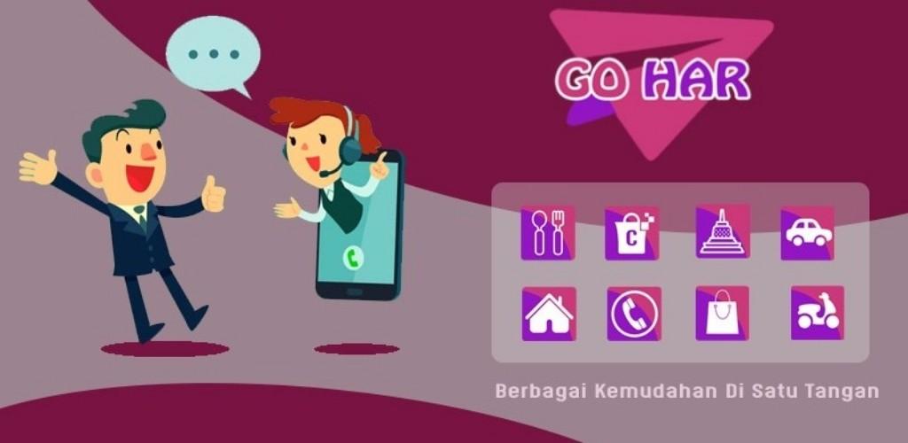 Fitur Grafis untuk Aplikasi Go Har
