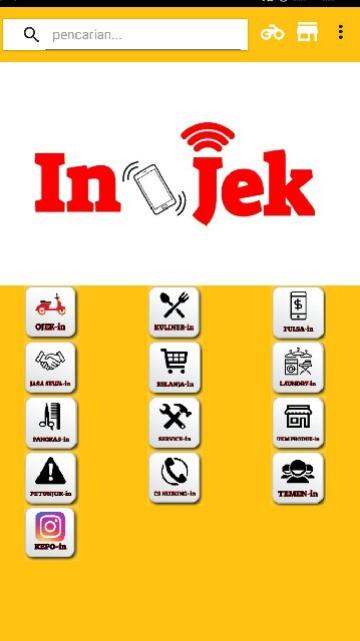 Tampilan Screenshot 1 In-Jek