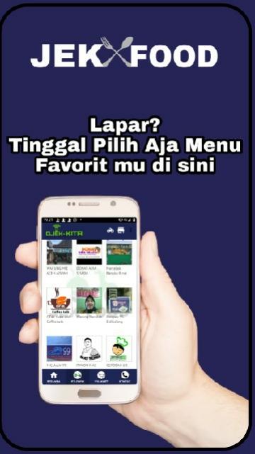 Screenshot 2 Aplikasi OJEK KITA