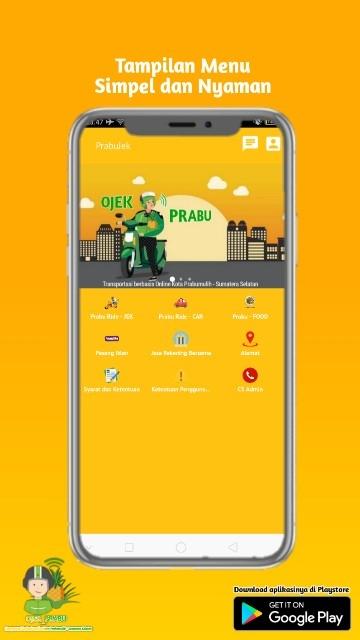 Tampilan Screenshot 1 PrabuJek