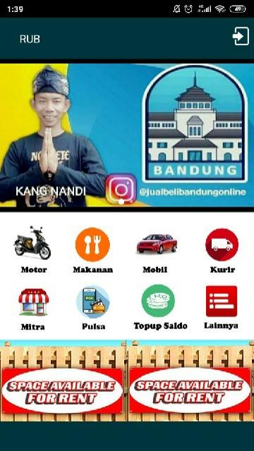 Screenshot 1 Aplikasi RUB