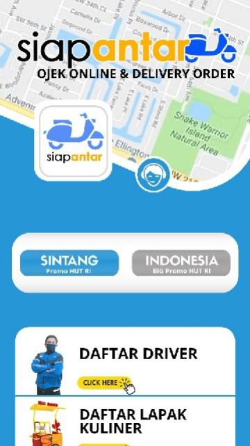Screenshot 1 Aplikasi Siap Antar!