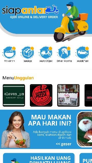 Screenshot 2 Aplikasi Siap Antar!