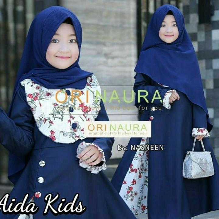 Aida Kids Baju Gamis Syari Anak 4