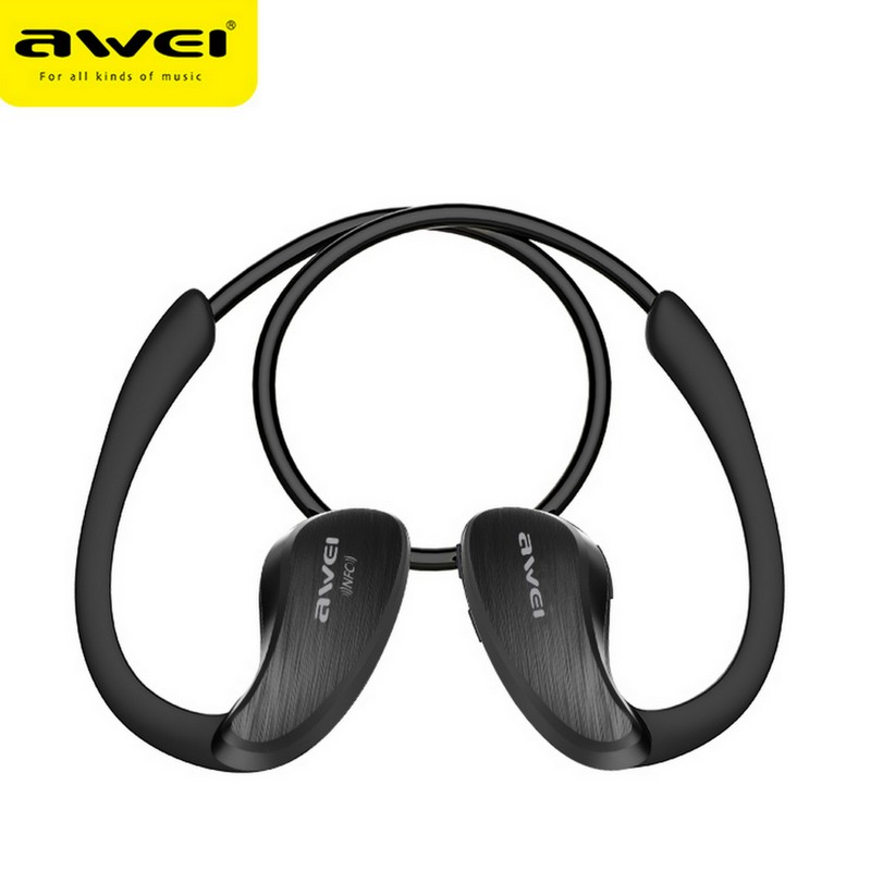 Earphone Headset Bluetooth dengan NFC A885BL AWEI