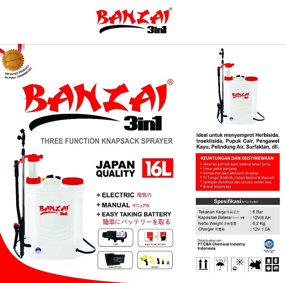 Elektrik Sprayer BANZAI 2
