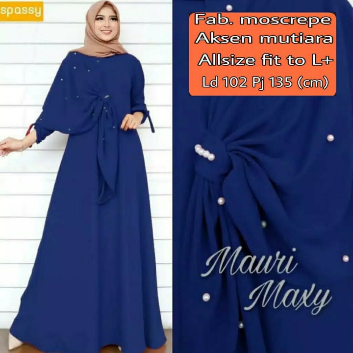 Gamis MUTIARA Mauri Maxi Dress BEST SELLER  2