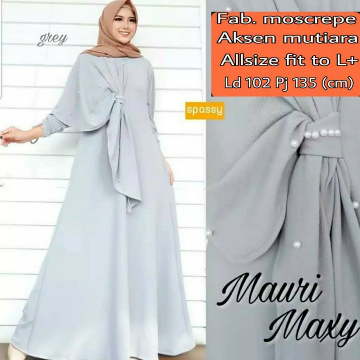 Gamis MUTIARA Mauri Maxi Dress BEST SELLER  3