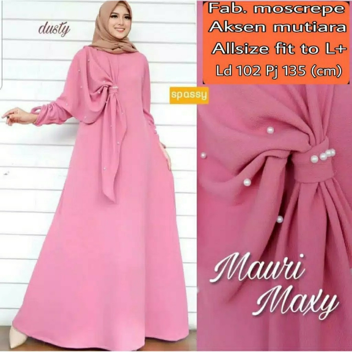 Gamis MUTIARA Mauri Maxi Dress BEST SELLER  4