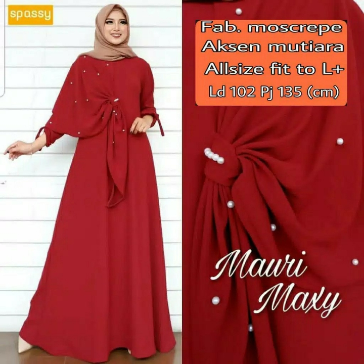 Gamis MUTIARA Mauri Maxi Dress BEST SELLER  5