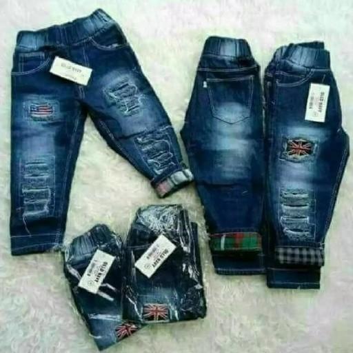 Jogger Bahan Jeans 2