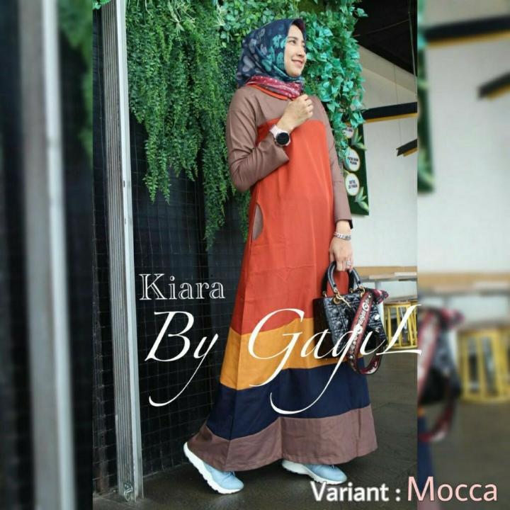 Kiara Dress  Gamis Wanita  Murah Wanita 4