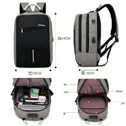 Ransel Anti Maling Import 4