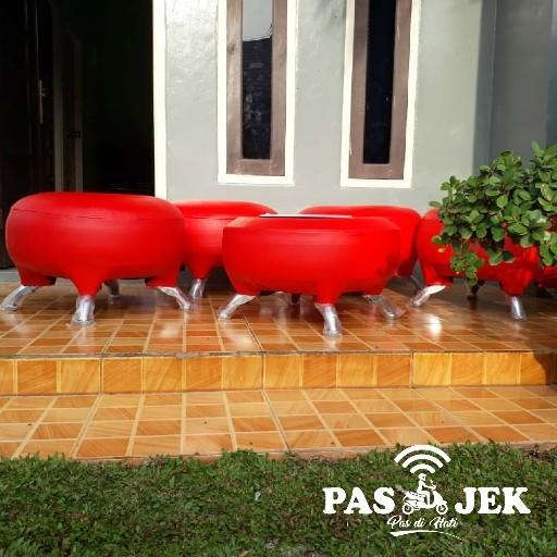 Sofa Bakpao Bulat 1 Set 3