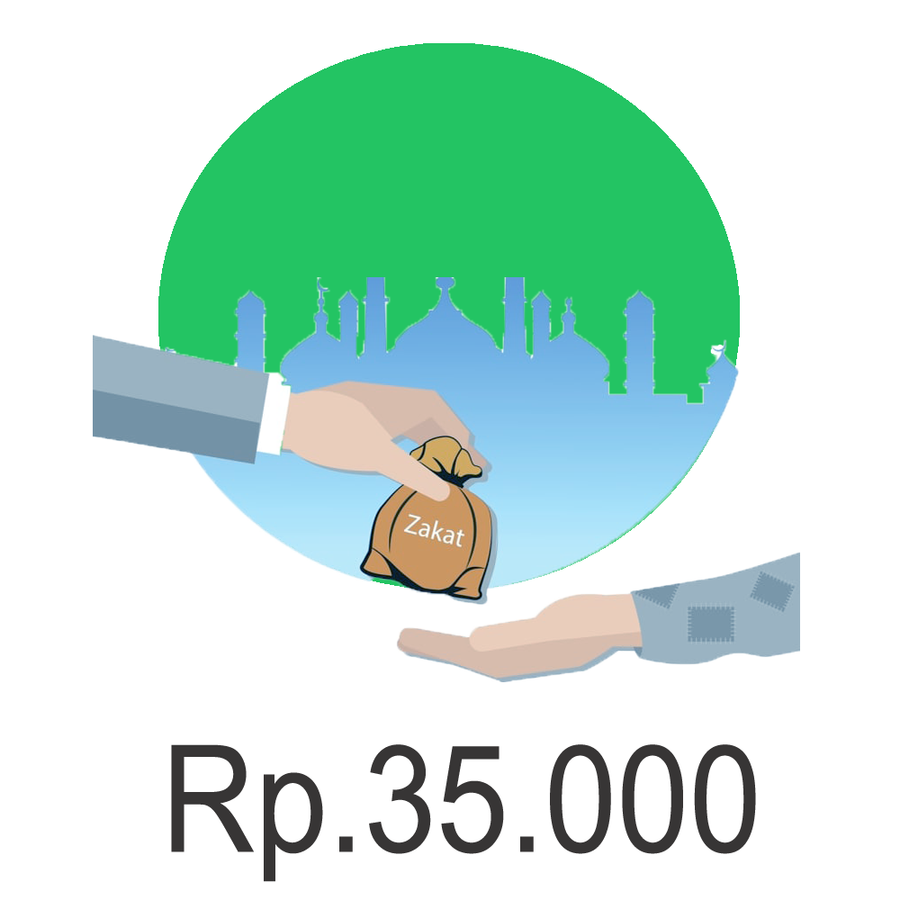Zakat Fitrah Kategori Rp.35.000 (Delivery)
