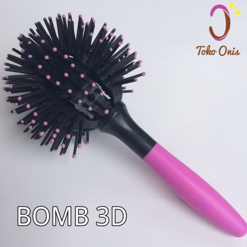 Sisir Bomb Curl Brush 3D