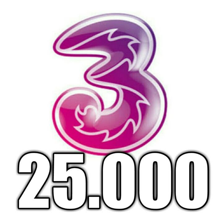 3 25000