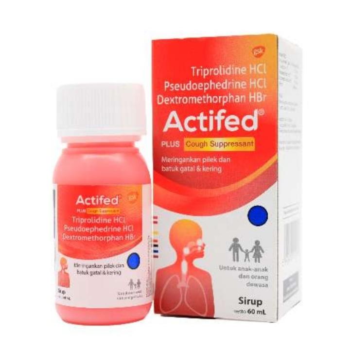 Actifed Plus Cough 60ml