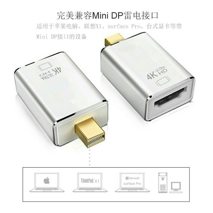 Adapter Converter Port to HDMI 4K Nb25 OMVA1YSVQ D10 3
