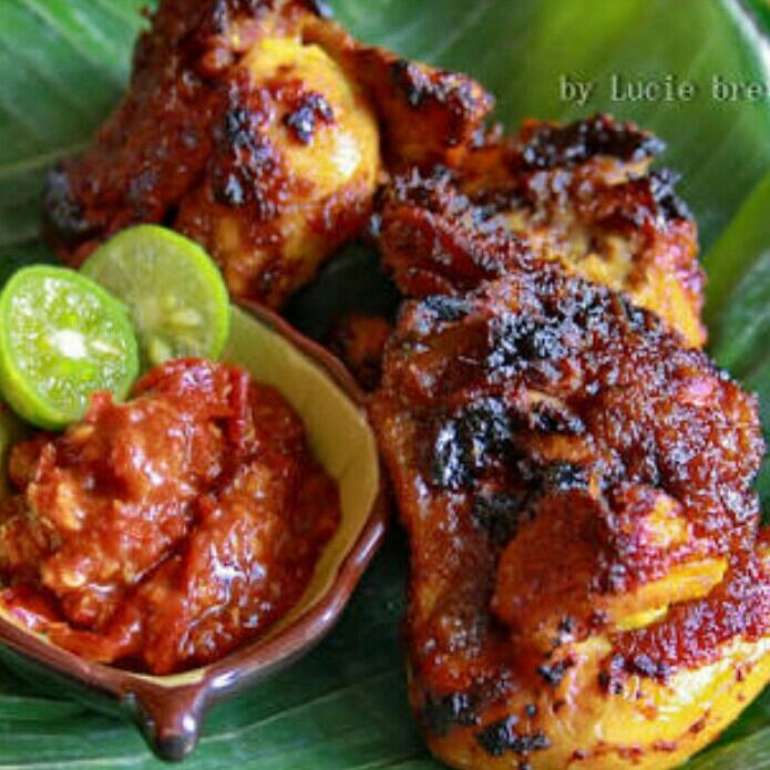 Ayam Bakar Dan Nasi