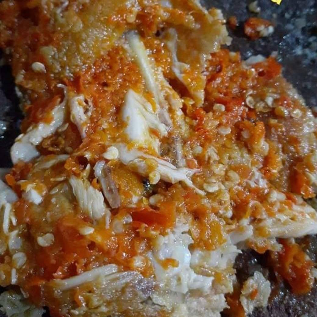 Ayam Geprek Tanpa Nasi