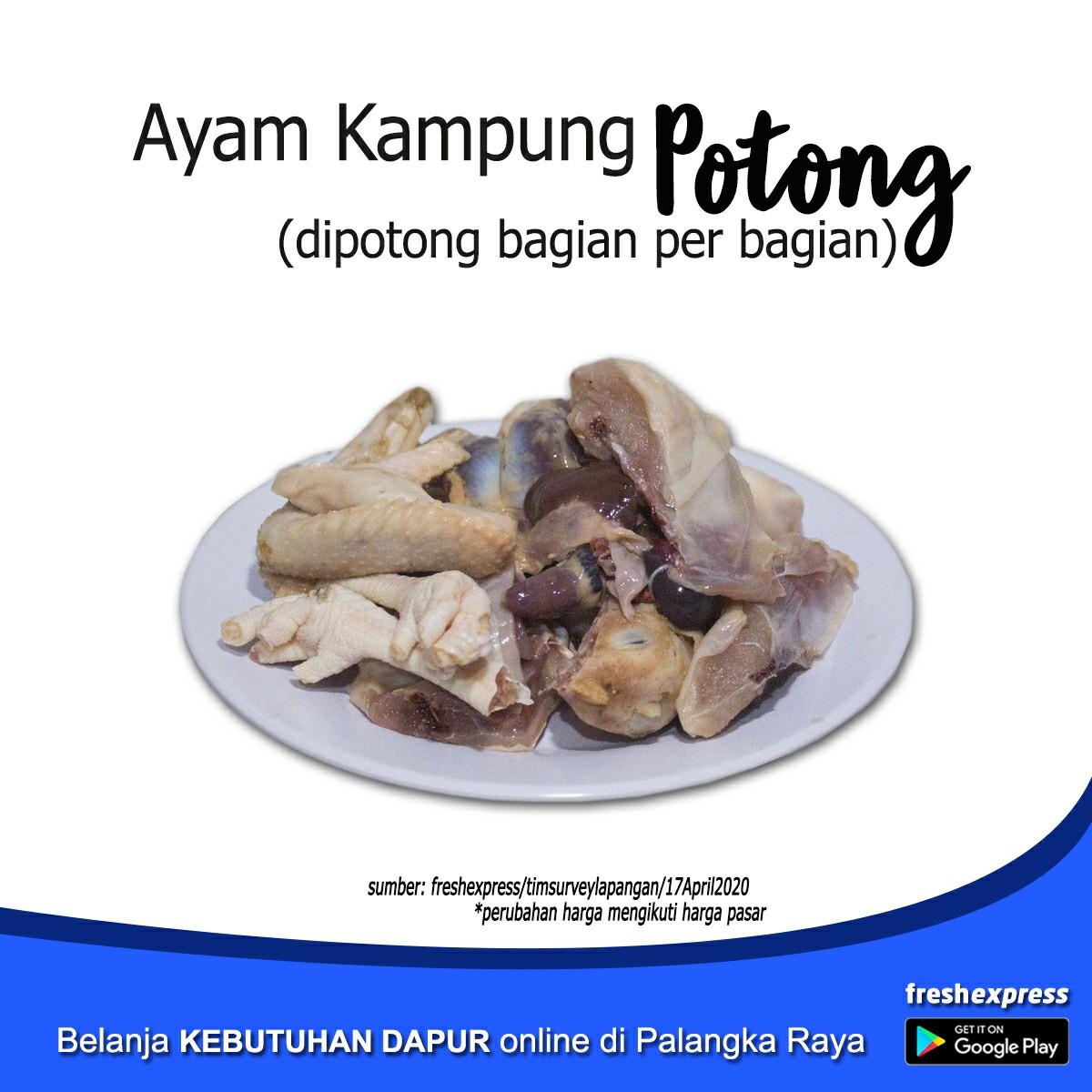 Ayam Kampung Potong - 1Kg
