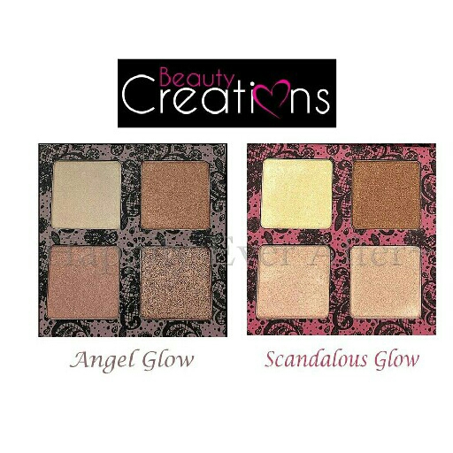 BEAUTY CREATIONS HIGHLIGHTER GLOW SERIES