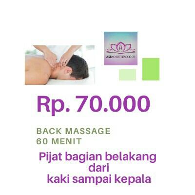 Back Massage 60 Menit