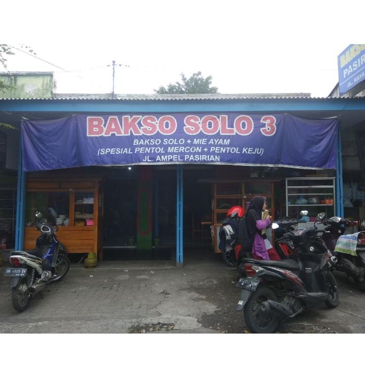 Bakso Solo 3 - Pasirian