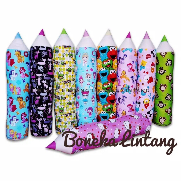 Bantal guling pensil