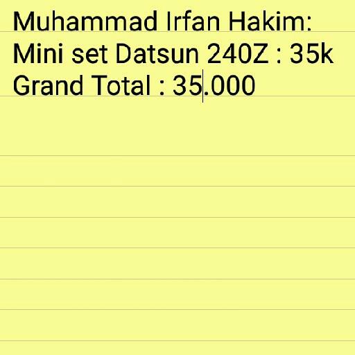 Billing A N Muhammad Irfan Hakim