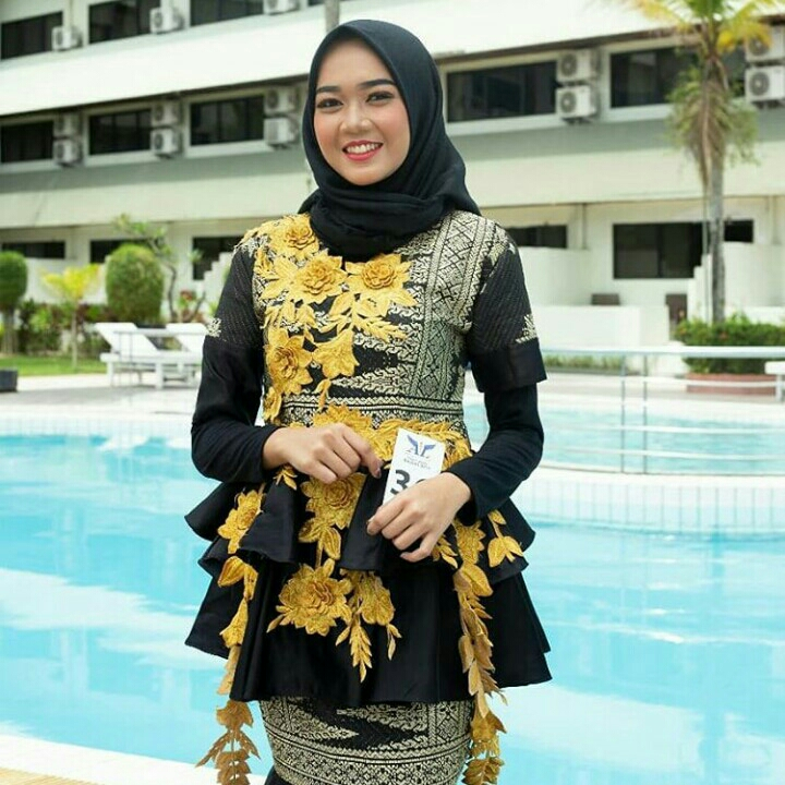 Black Gold Gown