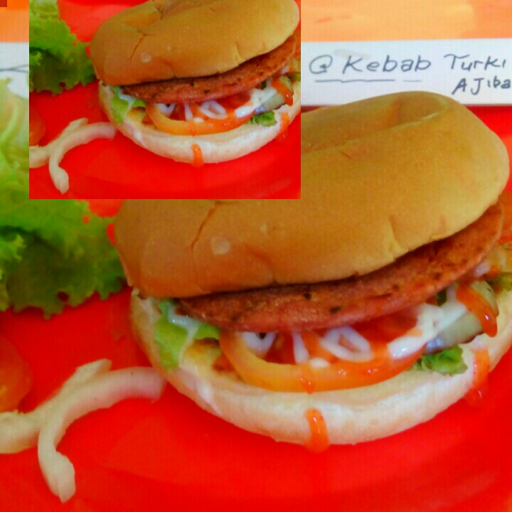 Burger extra keju