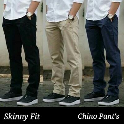 Celana Chino Panjang Pria ByIM  3D