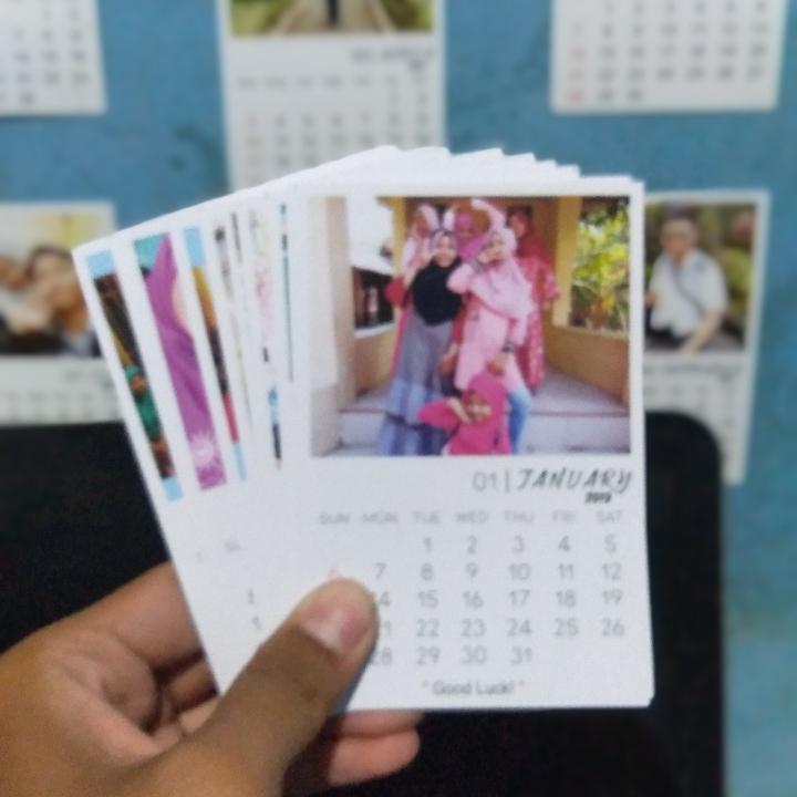 Cetak Foto Kalender 3R