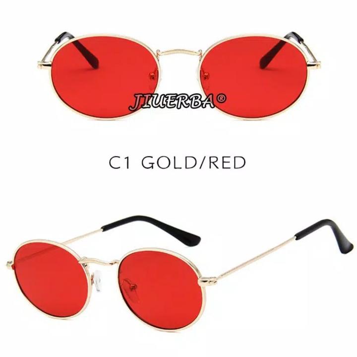 Classical RB Small Oval Kacamata Hitam WanitaPria Sunglasses Anti UV4