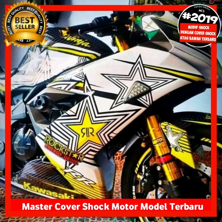 Cover Shock Ninja 250 Fi Karbu