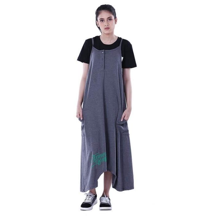 Dress Atasan Kasual Wanita Splat Dark Distro - H 3249