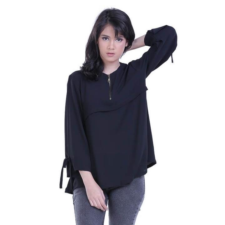 Dress Kasual Wanita Distro - H 3210