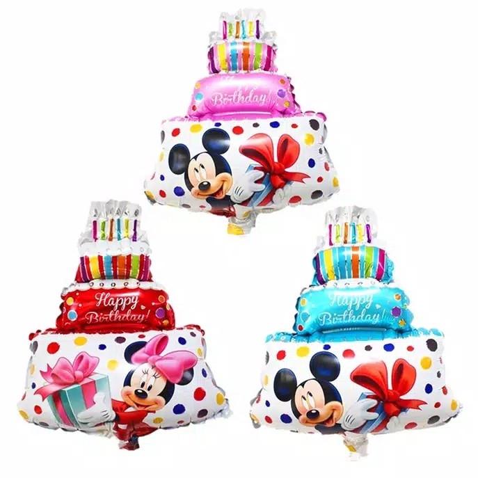 Foil CAKE MICKEY MINNIE