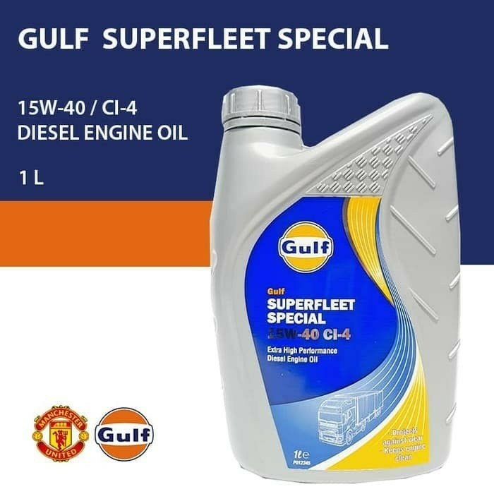 GULF SUPERFLEET SP 15W40 CI-4 1Ltr
