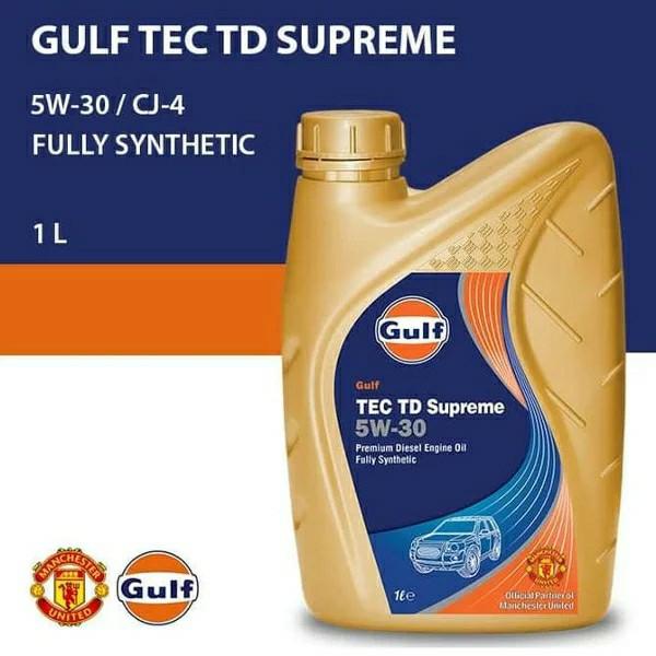 Gulf TEC TD 5W30 CJ-4 1 Ltr