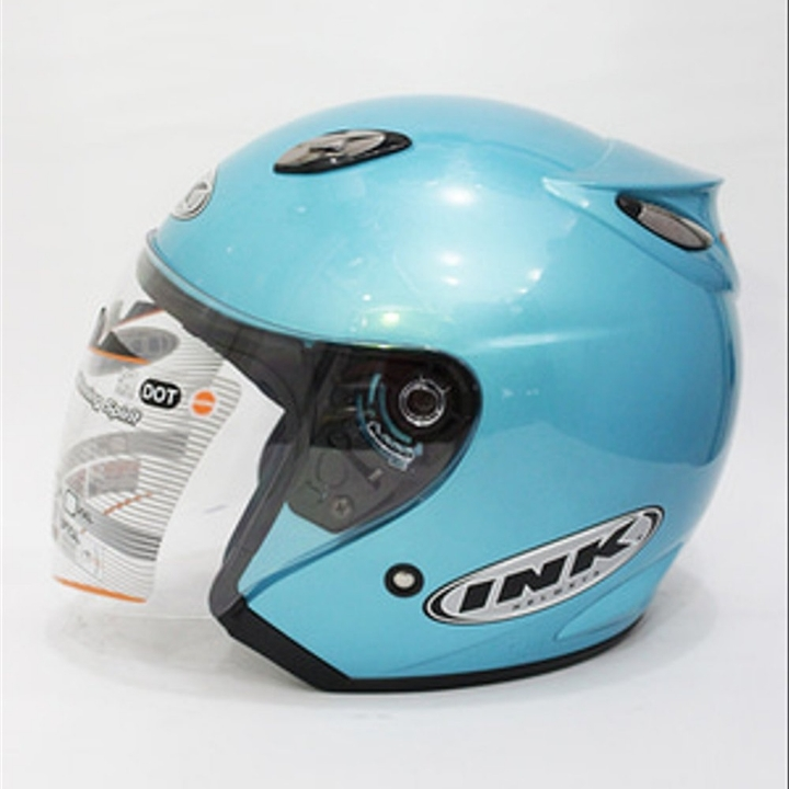 Helm INK Centro Basic Ice Blue - Not Ori