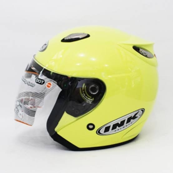 Helm INK Centro Basic Lemon - Not Ori